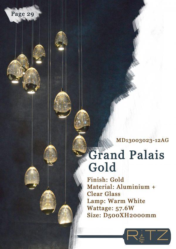 29-GRAND PALAIS GOLD
