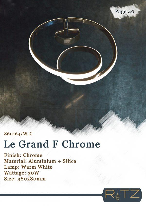 40-LE GRAND F CHROME