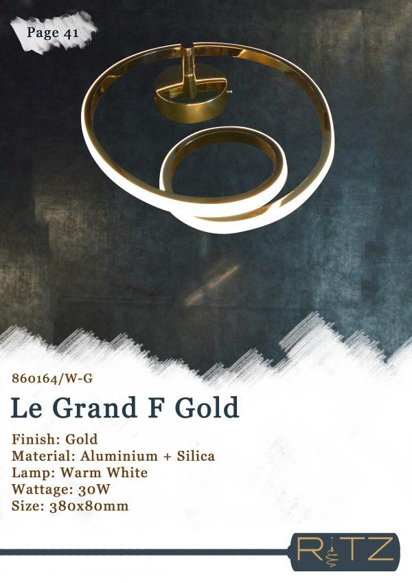 41-LE GRAND F GOLD