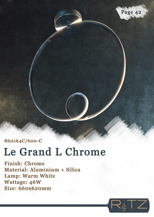 42-LE GRAND L CHROME