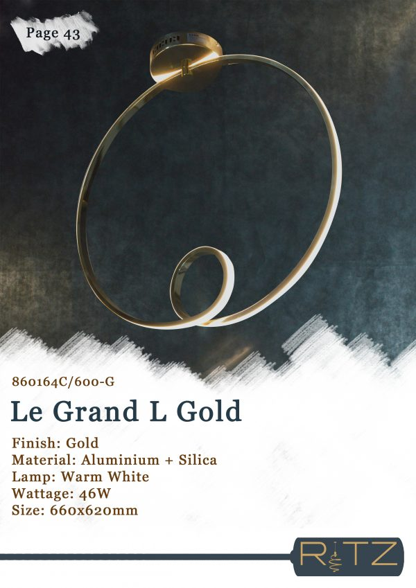 43-LE GRAND L GOLD
