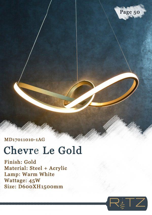50-CHEVRE LE GOLD