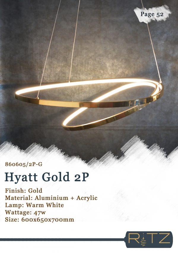 52-HYATT GOLD 2P
