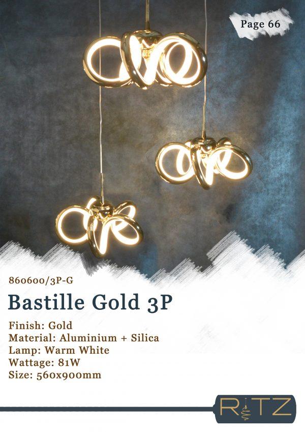66-BASTILLE GOLD 3P
